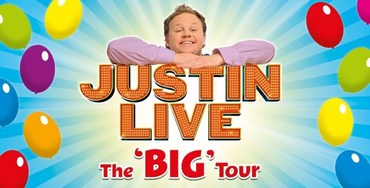 Article image for Justin Fletcher is coming to Belfast!