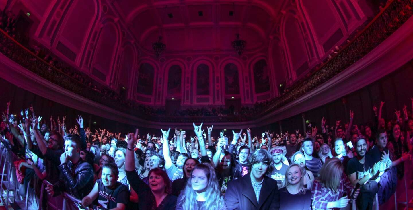 Ulster Hall Audience