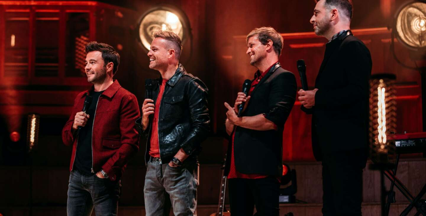 Article image for Welcoming back Live Music with a special performance by Westlife at the Ulster Hall