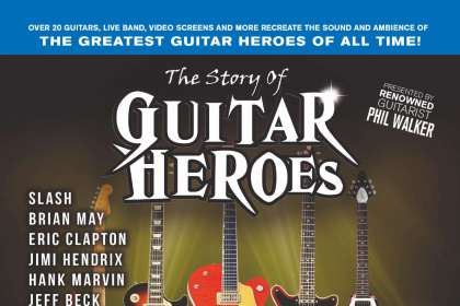 Article image for The Story of Guitar Heroes - prepare to be blown away
